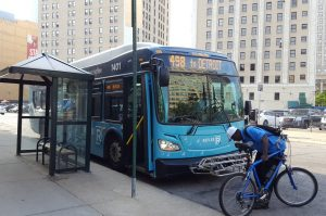 RefleX provides seamless express bus service linking Detroit with Oakland and Macomb Counties