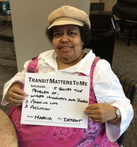 Marcia Yakes fought for reliable affordable bus service for decades, before passing away in September 2015.