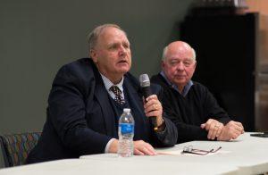 Dan Dirks and John Hertel at TRU 2017 Annual Meeting