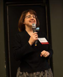 Megan Owens presenting at 2017 Annual Meeting